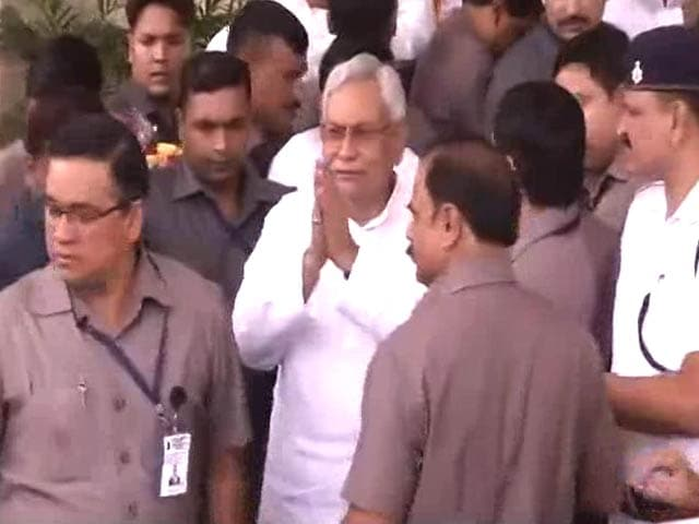 Video : Nitish Kumar Wins Trust Vote In Bihar Assembly