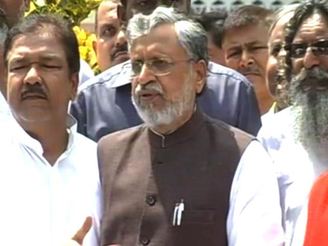 Video : 'Unnatural Alliance Died Naturally,' Says Sushil Modi After Trust Vote