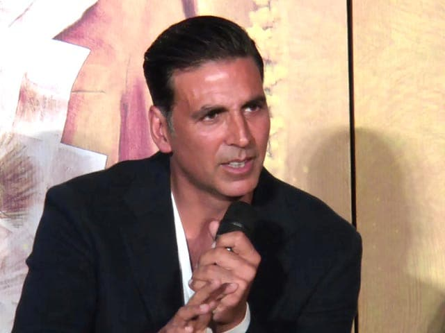 Video : Akshay Kumar On Holding A Special Screening of <i>Toilet</i> For PM Modi