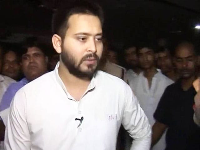 Video : If Polls Held Now, Nitish Kumar Will Lose: Tejashwi Yadav To NDTV