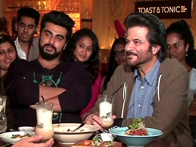 Video : <i>Mubarakan</i> Made Me Discover Arjun: Anil Kapoor