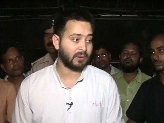 Video : After Nitish Kumar Dumps RJD, Tejashwi Yadav Has Advice For Rahul Gandhi