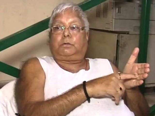 Video : Sharad Yadav Called Up, Says Lalu Yadav After Nitish Kumar's Trust Vote