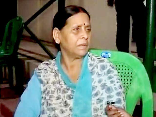 Video : महागठबंधन पर जनता ने दिया था वोट: राबड़ी देवी
