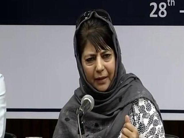 Video : To Recoup Lost Political Ground, Mehbooba Mufti's Challenge to Centre