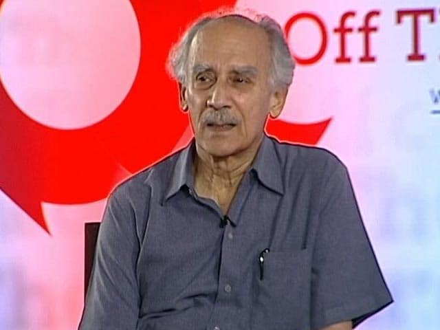 Video : Prime Minister Must Set Moral Tone For Country, Says Arun Shourie