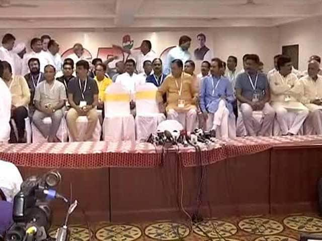 Video : Gujarat Lawmakers Fled To Bengaluru In Fear, Alleges Congress