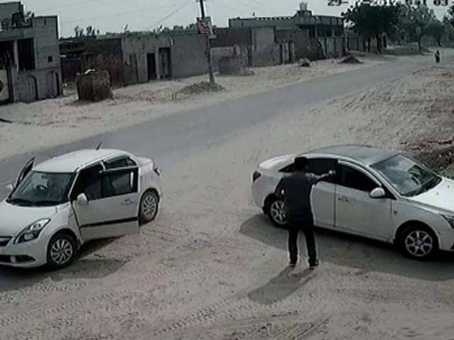 Video : Caught On Camera: Businessman Shot Dead Outside Mill In Punjab
