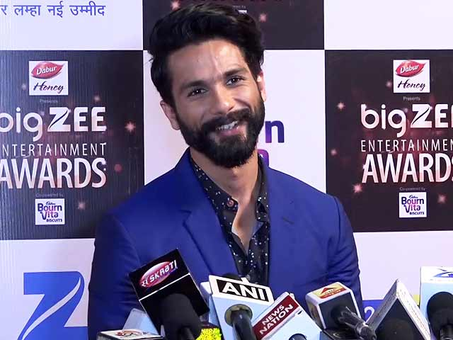 Shahid Kapoor On His Role In Sanjay Bhansali's Padmavati