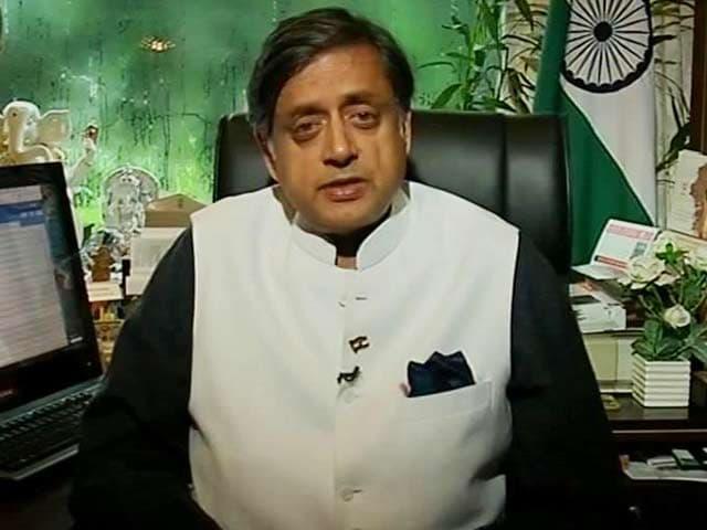 Video : Shashi Tharoor To NDTV: 'Voters Won't Forgive Nitish Kumar'