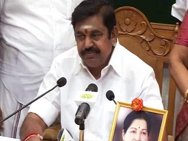 Video : E Palaniswami's Camp To Take A Call On Merger Talks With OPS Today