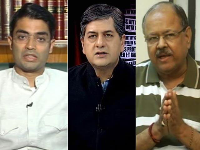 Video : Political Storm Over Raids On Karnataka Minister