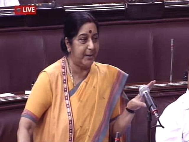 Video : Will Answer Every Question, Says Sushma Swaraj On Foreign Policy Debate