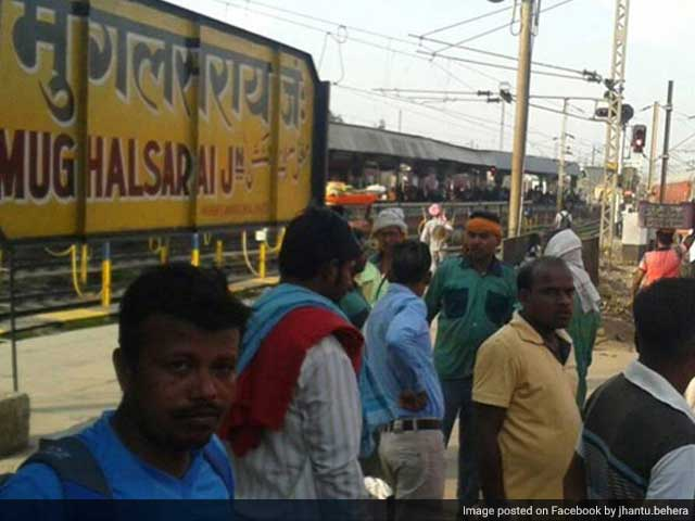 Video : 'Change Country Name': Row Over UP's Mughalsarai Station Being Renamed