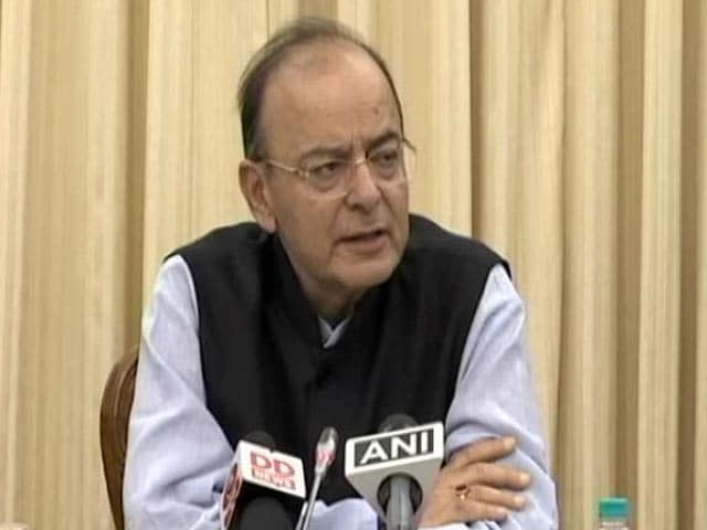 Video : Disinvestment Target Of Rs 72,500 Crore For FY18 is 'Stiff': Jaitley