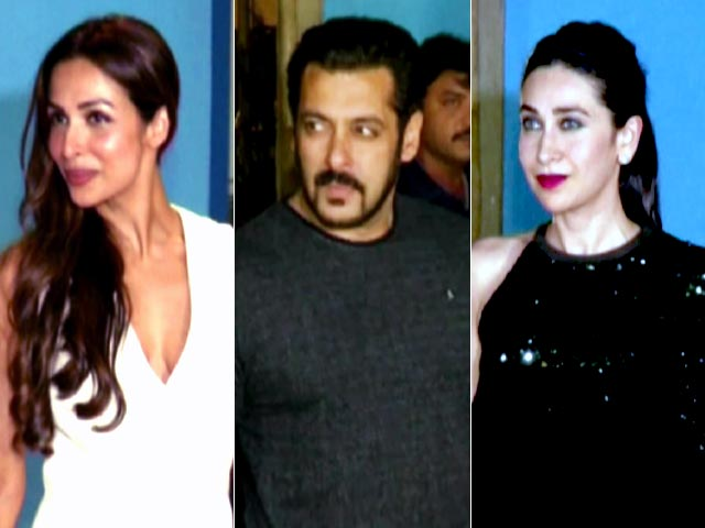 Video : Salman, Malaika, Karisma & Other Stars At Arbaaz Khan's 50th Birthday Bash