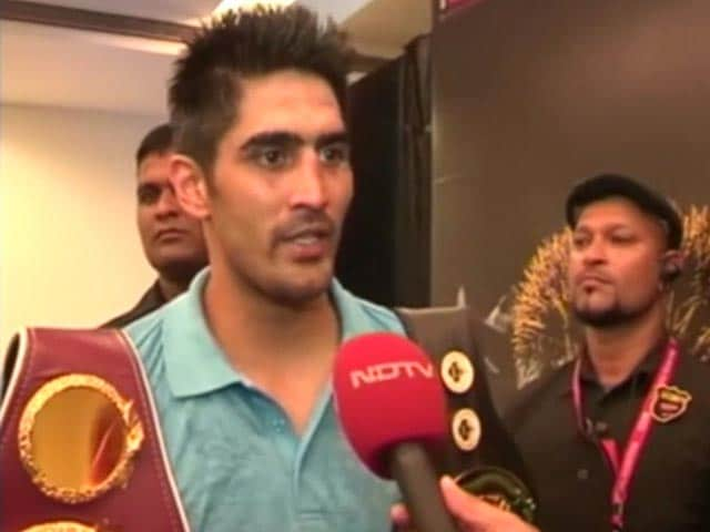 Wanted To Give A Message Of Peace By Giving Away The Title: Vijender Singh