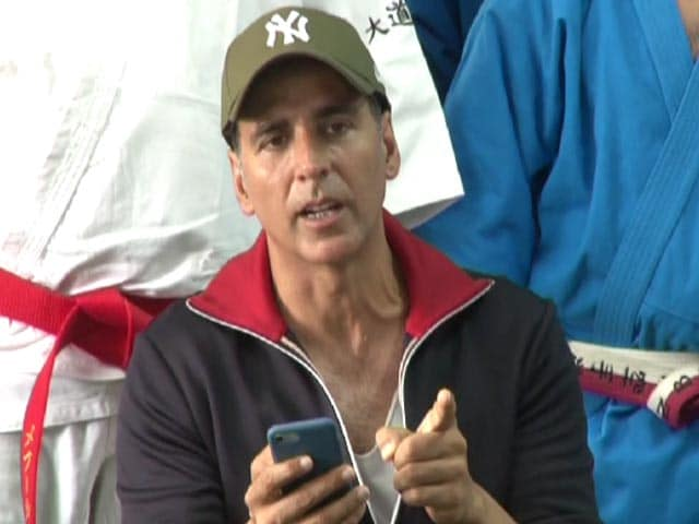 Akshay Kumar Highlights The Chandigarh 'Stalking' Case