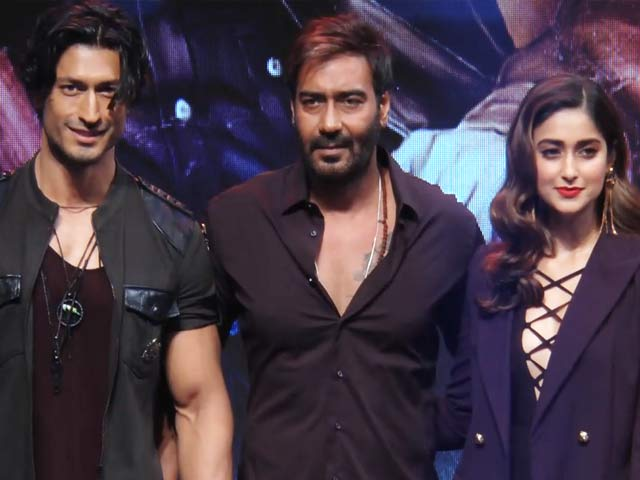 Video : Watch: All The Action From The Grand Trailer Launch Of <i>Baadshaho</i>