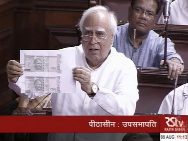 Video : 2 Types Of Rs 500 Notes? Congress Alleges 'Biggest Scam Of Century'