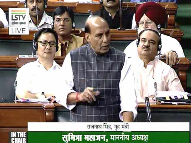 Video : 'No Security Abroad, What's He Hiding': Rajnath Singh's Jab At Rahul Gandhi