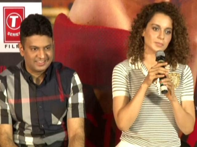 Video : I Have To Fight For Everything That I Want: Kangana Ranaut