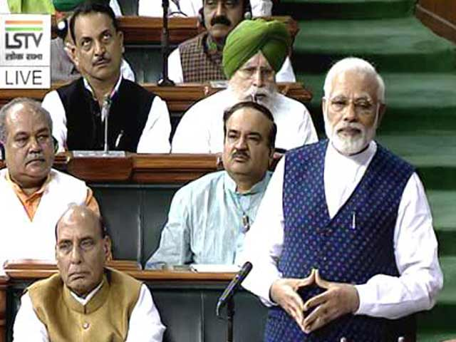 Video : Parliament Marks 75 Years Of Quit India Movement