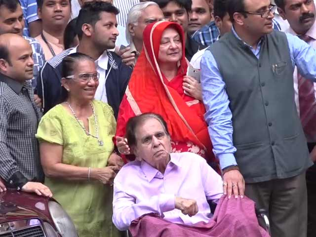 I Want To Thank All Those Who Prayed For Dilip Saab's Recovery: Saira Banu