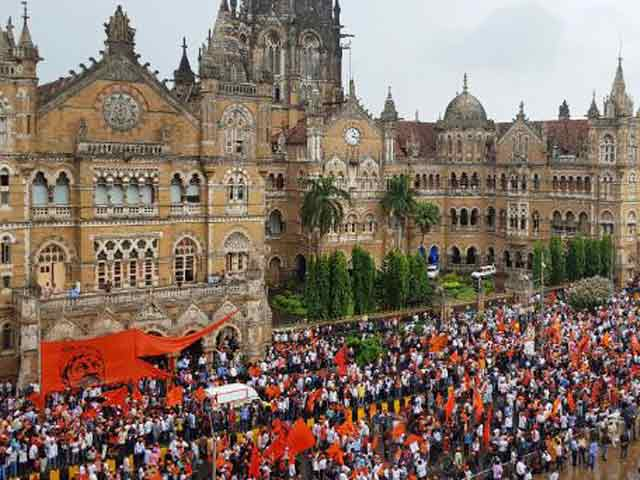 Video : A Silent March By 9 Lakh Marathas In Mumbai