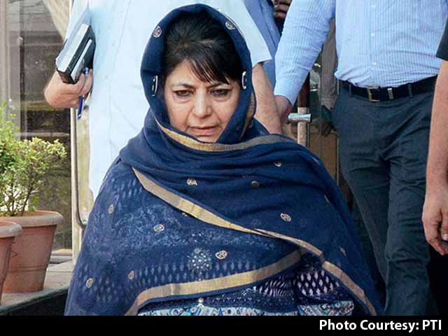 Video : Mehbooba Mufti To Meet PM Modi Today For Kashmir's Special Status