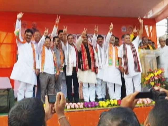 Video : 6 Trinamool Men In The Bag, BJP Eyes The Congress In Tripura