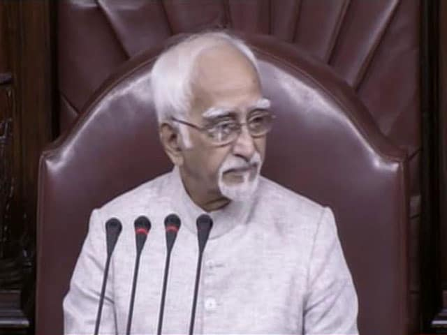 Video : Hamid Ansari Wants Political Job: BJP Leader On 'Muslims Insecure' Remark