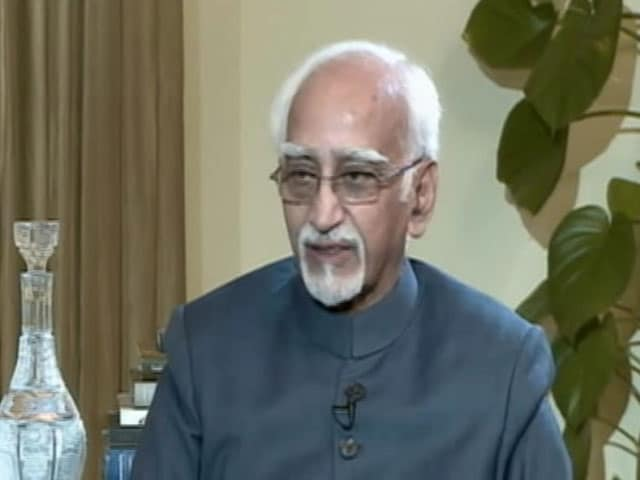 Video : Unease Among Muslims, Says Outgoing Vice President Hamid Ansari
