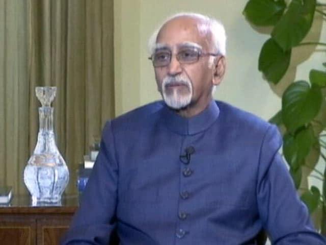 Video : Good Evening इंडिया : मुसलमानों में सुरक्षा को लेकर बेचैनी- हामिद अंसारी