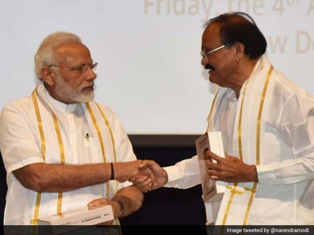 Video : PM Welcomes 'Farmer's Son' Venkaiah Naidu to High Post, Congress Bristles