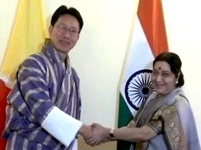 Videos : भूटान के विदेशमंत्री से मिलीं सुषमा स्वराज
