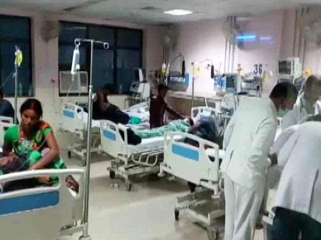 Video : 30 Children, Including Newborns, Die In Uttar Pradesh Hospital