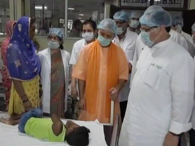 Video : गोरखपुर के बीआरडी अस्पताल पहुंचे सीएम योगी ने कहा- दोषियों को बख्शा नहीं जाएगा