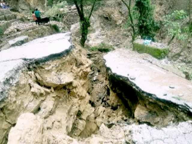 Video : पिथौरागढ़ में बादल फटने से 4 लोगों की मौत, 7 जवान लापता