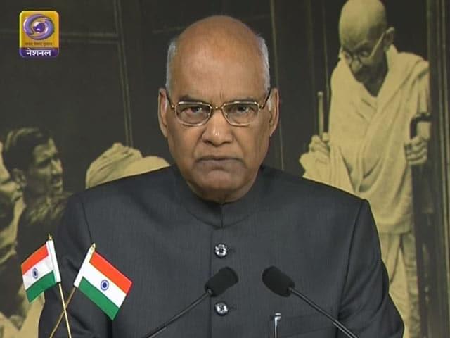 Video : GOOD EVENING इंडिया : राष्ट्रपति रामनाथ कोविंद का राष्ट्र के नाम पहला संबोधन