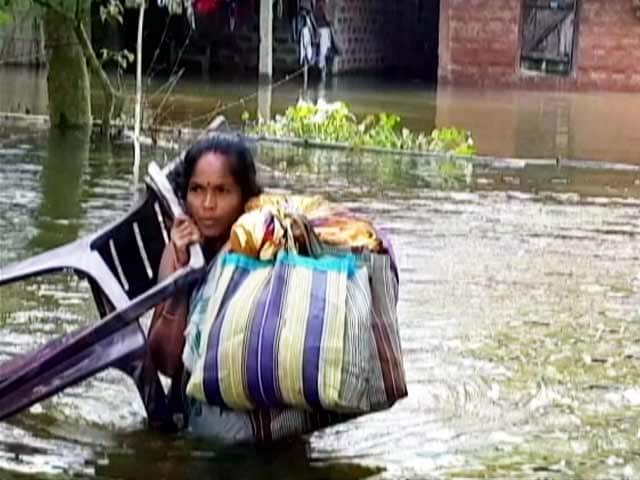 Video : Assam Flood Turns Critical: Three More Dead, 32 Lakh Hit