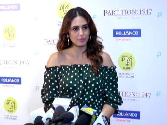 Huma Qureshi on her upcoming Hollywood film Partition: 1947