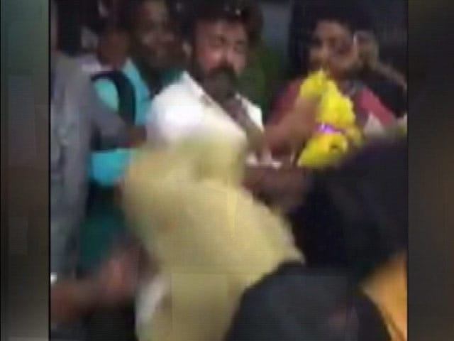 Actor-Politician Balakrishna Caught On Camera Slapping Fan