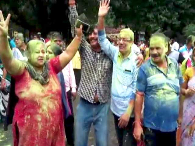 Video : Trinamool's Total Triumph In Bengal Civic Polls, BJP Distant Second