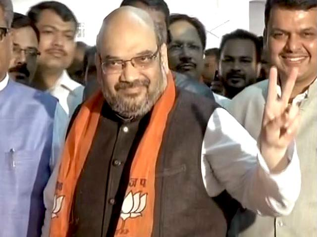 Video : On Day Of Mamata Banerjee's Big Win, Amit Shah Briefs BJP On 2019 Plans