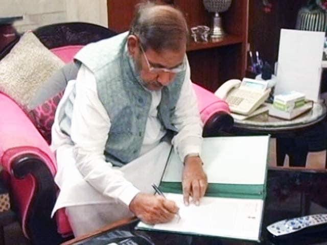 Videos : MoJo: जेडीयू के बागियों के साथ बैठक करेंगे शरद यादव