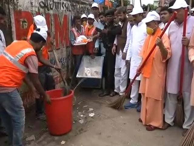 Video : गोरखपुर हादसे के लिए पुरानी सरकार जिम्मेदार: योगी आदित्यनाथ