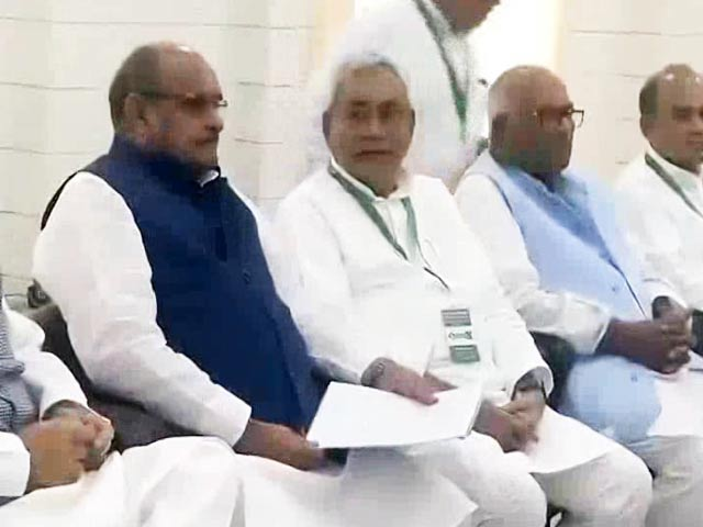 Video : Nitish Kumar's Janata Dal-United To Join BJP-Led National Alliance