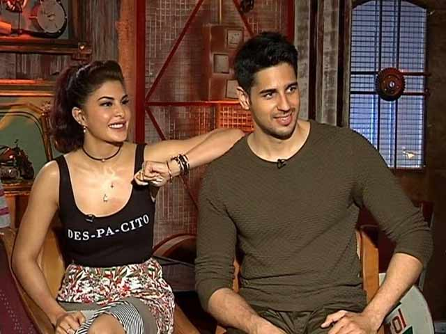Sidharth Malhotra, Jacqueline Fernandez On The Rapport They Share
