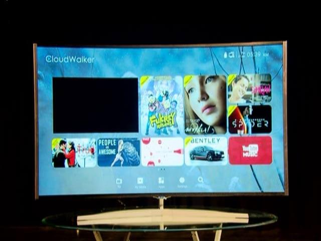 Video : Cloudwalker 65 LED Television
